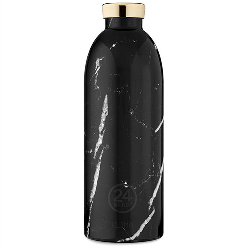 Clima Marble bottle - black