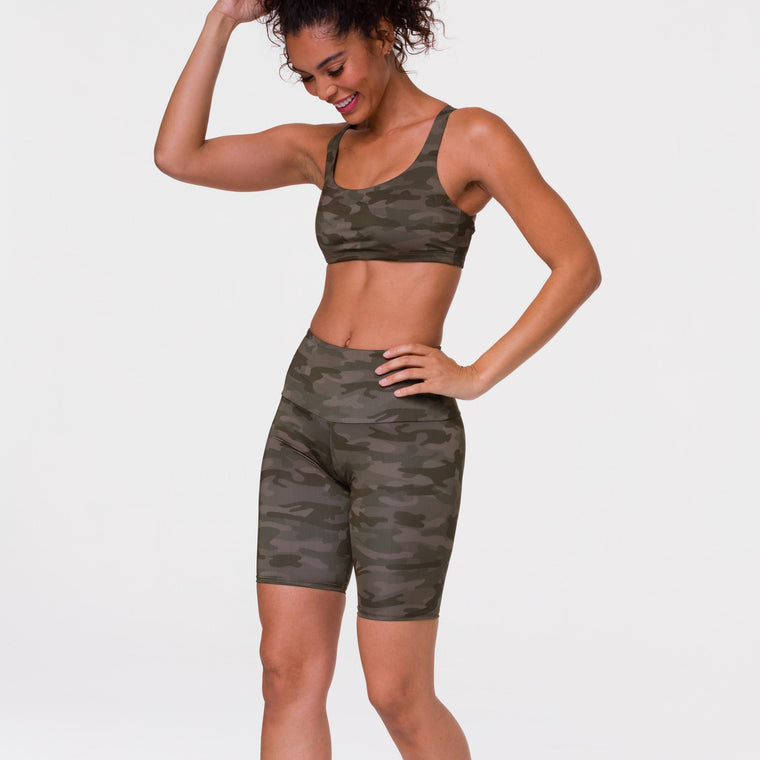 Camo Cycle Shorts