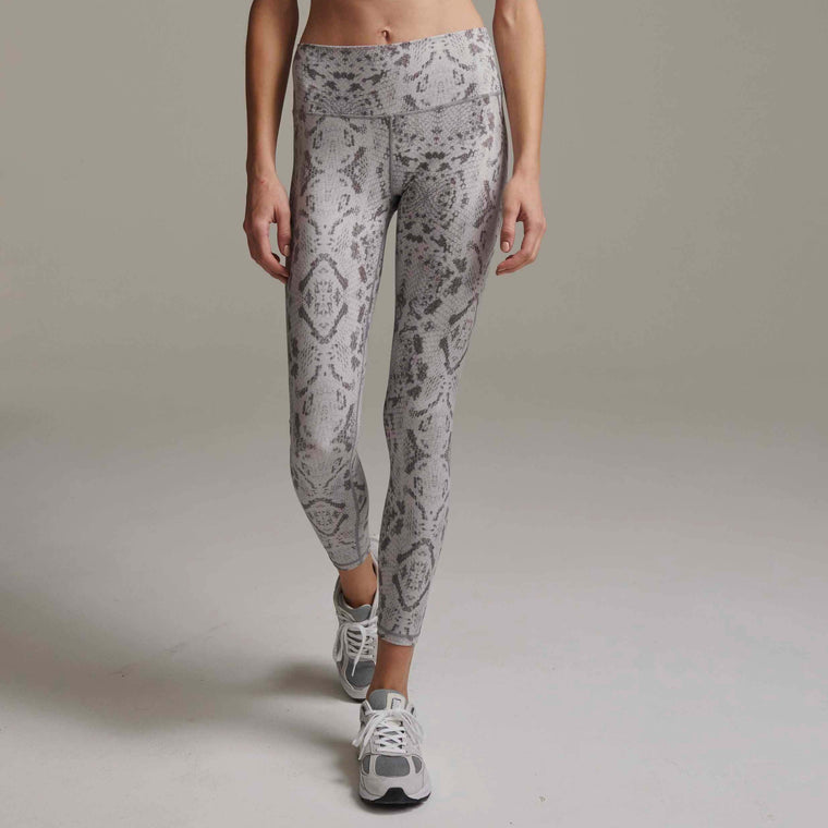 Century Leggings - Taupe Gray Snake