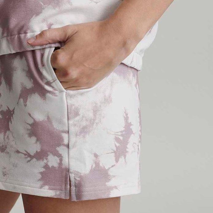 Glade Tie Dye Taupe Shorts