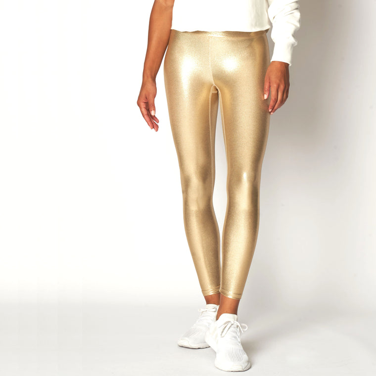 Marvel Leggings - True Gold
