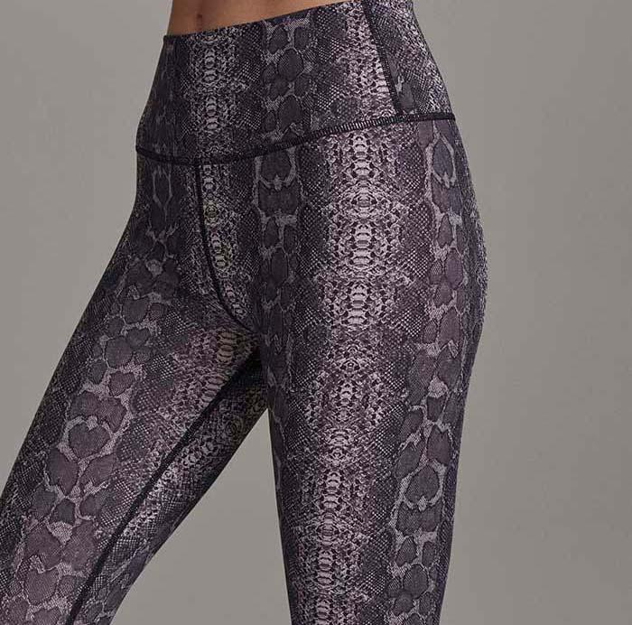 Luna Blush Leggings - Boa Snake