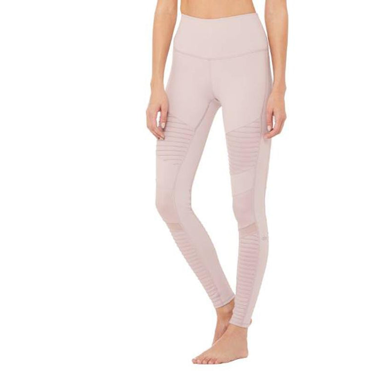 Motorcycle Leggings - Old pink