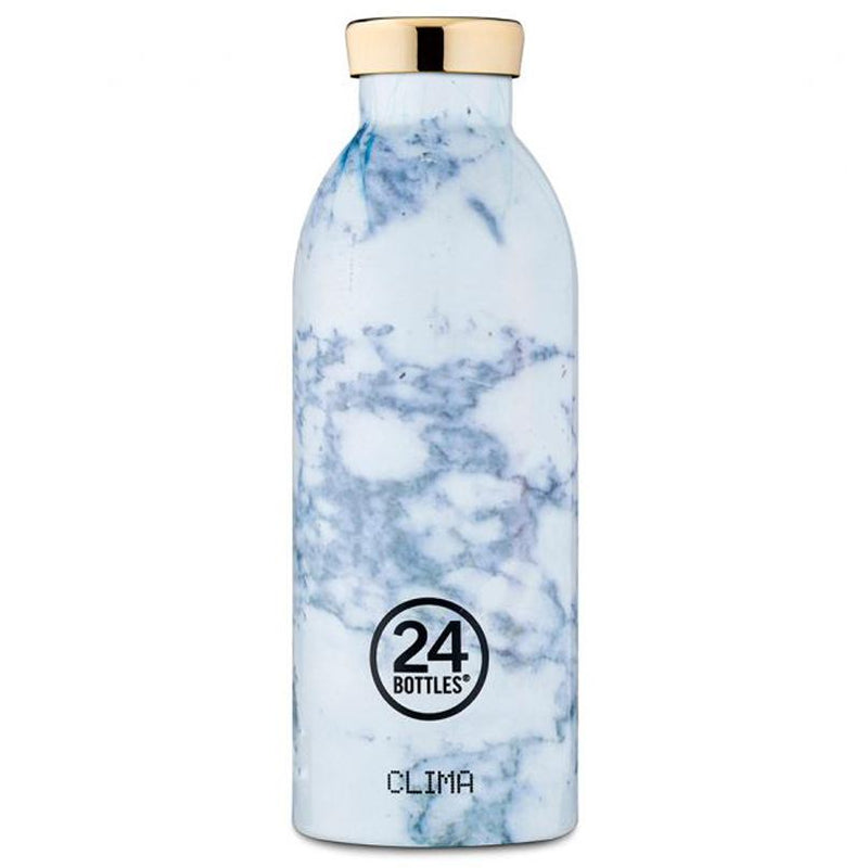 Clima Marble bottle - white