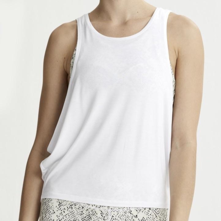 Buckley Tank Top - White