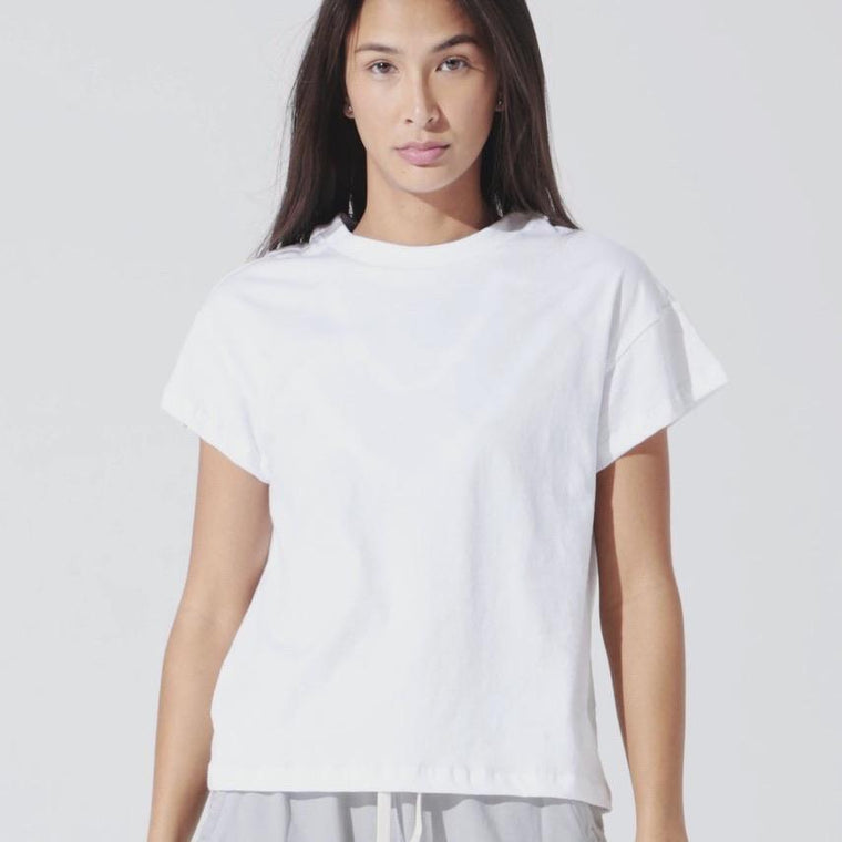 T-shirt yoga Royce - Blanc
