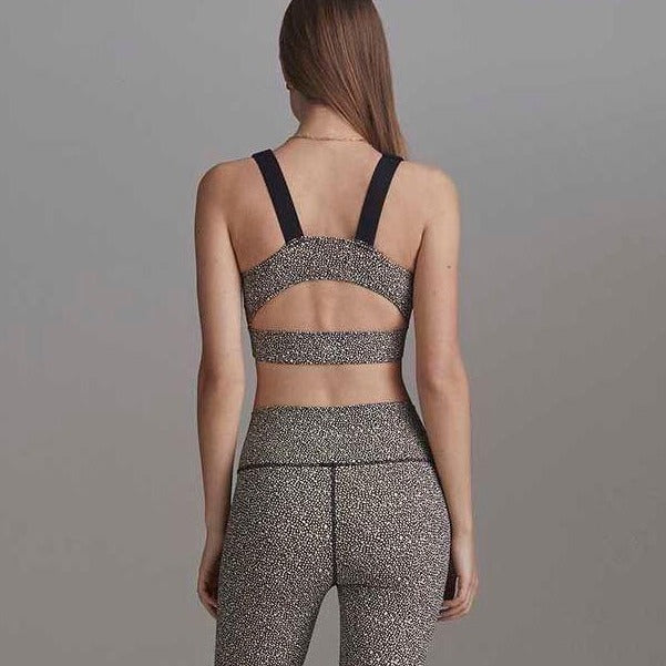 Soutien Gorge Running Edris - Mixed Pebbles