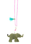 Elephant Baby Buddy Necklace