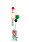 """Love Me"" Classy Cat Push-Pop Necklace"