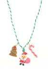 Santa Claus Stocking Stuffer Necklace