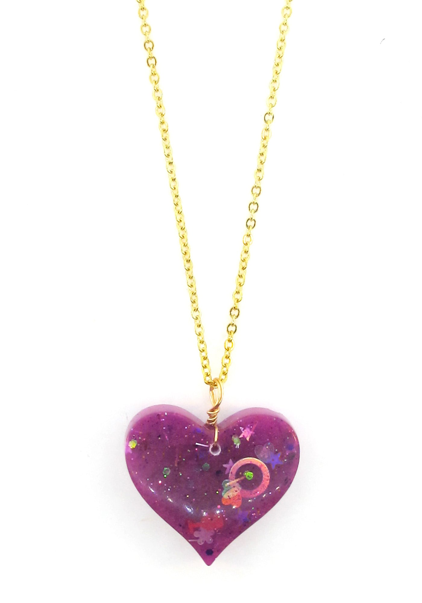 tcw necklace pendant heart pink effy purple sapphire jewelry splash silver sterling