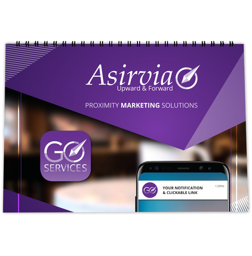 Asirvia GO SERVICES Flip Book Presentation