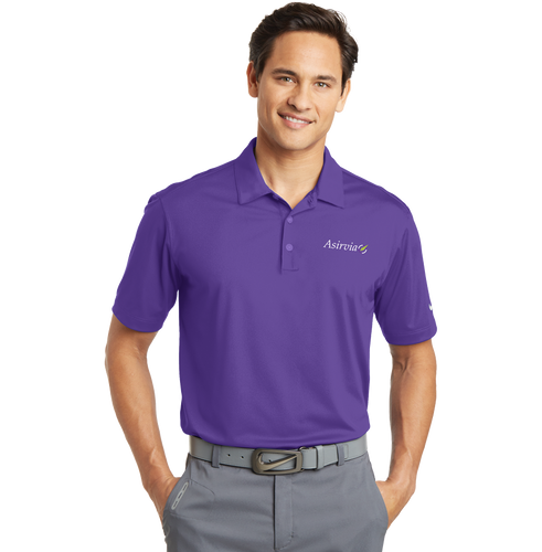Men's Performance Polo - Purple