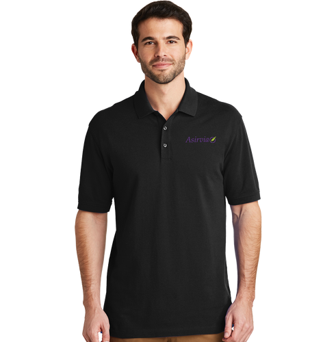Men's Casual Polo - Black