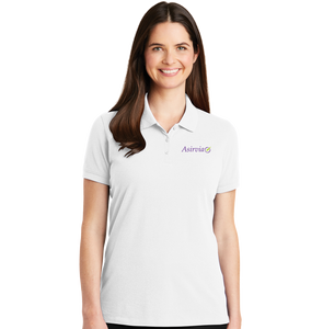 Women's Casual Polo - White