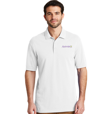 Men's Casual Polo - White