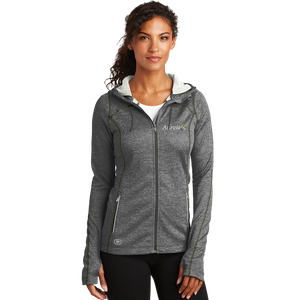 Women's Zip Up Sport Jacket - Grey