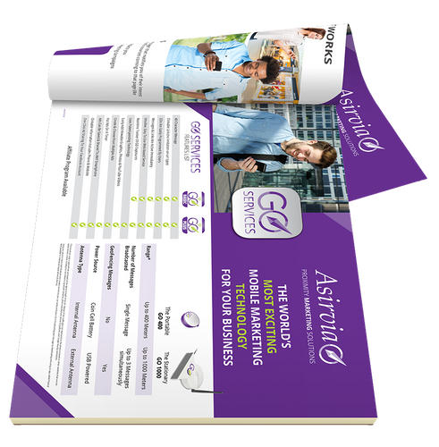 GO SERVICES  Sales Sheet - Pad of 50