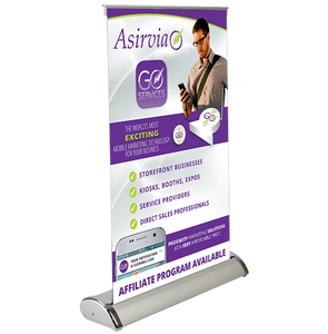 Mini-Retractable Banner Stand