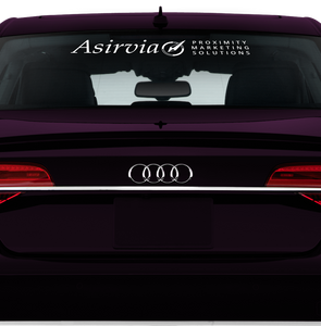 Asirvia Rear Window Decal