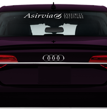 Asirvia Front and Rear Window Decal Set