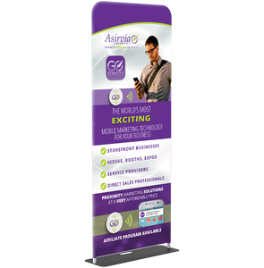 Fabric Banner Stand - Double Sided Print