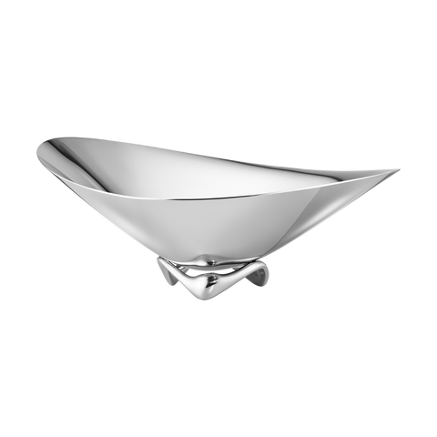 Koppel Wave Bowl - Stainless Steel, Small