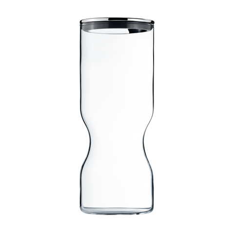 Alfredo Container Glass W. Stainless Steel Lid, 1.5L