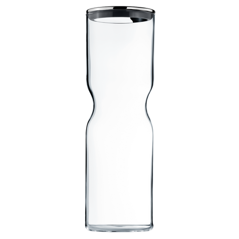 Alfredo Container Glass W. Stainless Steel Lid, 2L