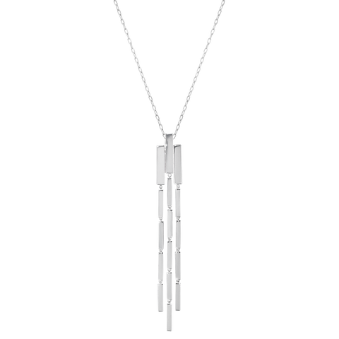 Aria Pendant - Chandelier, Sterling Silver