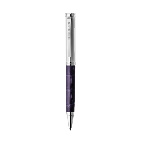 Bespoke Alligator Ballpoint Pen, Purple