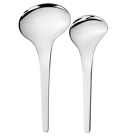 Bloom Serving Spoons, 2 Pieces