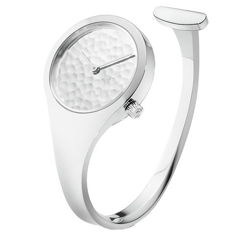 Vivianna  - 34 mm, Hammered Dial Watch Large