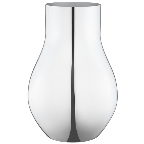 Cafu Vase, Medium, Stainless Steel