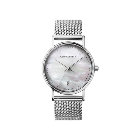 Koppel - 32 mm, Quartz, White Mother-Of-Pearl Dial, Bracelet
