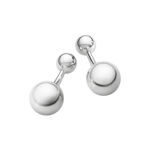 MenS Classic Cufflinks - Sterling Silver