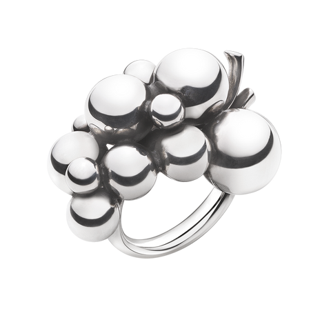 Moonlight Grapes Ring - Sterling Silver, Large 55
