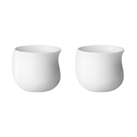 Cobra Cup - White Porcelain