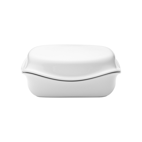 Cobra Butter Dish Porcelain