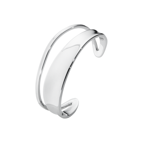 Marcia Bangle- Sterling Silver