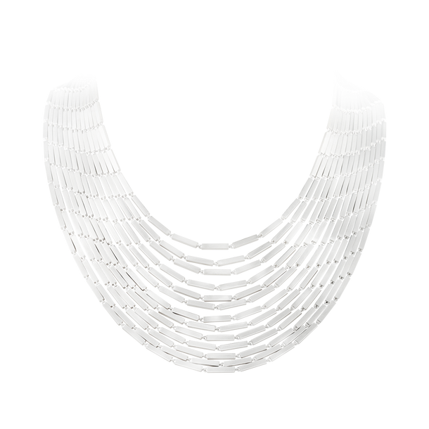 Aria Layered Necklace - Sterling Silver