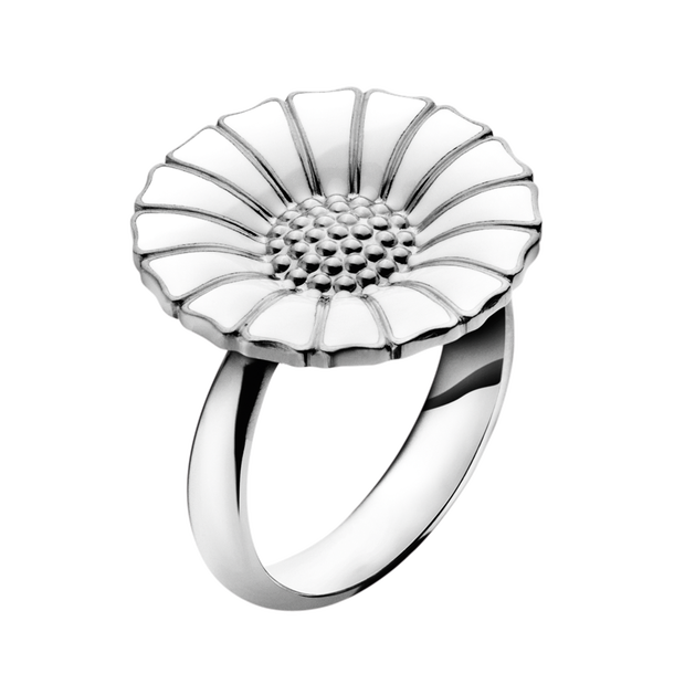 Daisy Ring in sterling silver from Georg Jensen, the perfect birthday gift