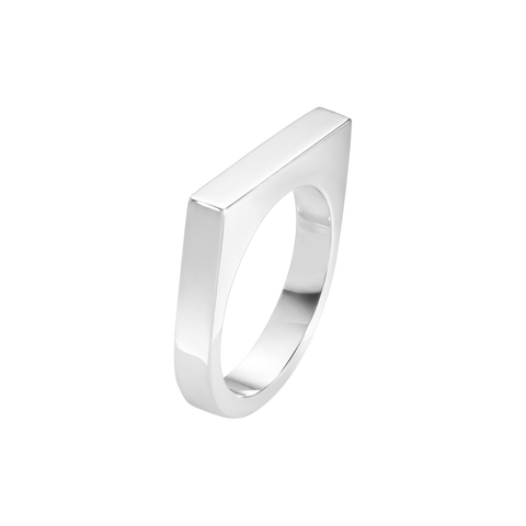Aria Slim Ring - Sterling Silver