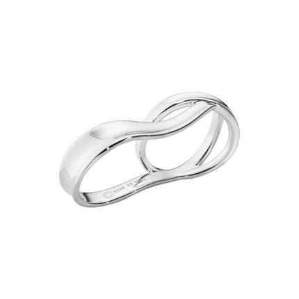 Marcia Double Ring - Sterling Silver