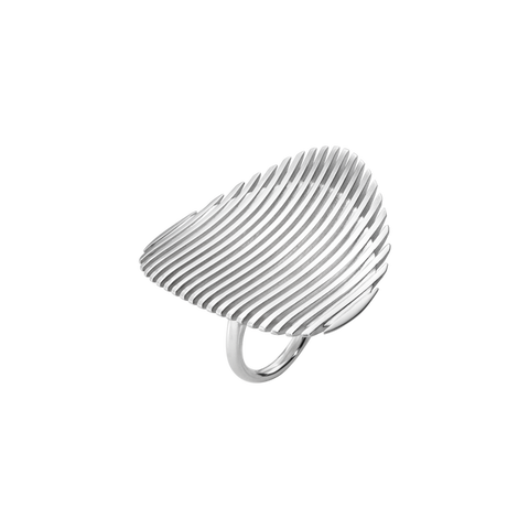 Lamellae Ring I - Sterling Silver