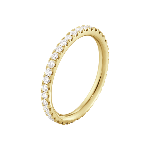 Aurora Ring - 18 Kt. Yellow Gold With Diamonds