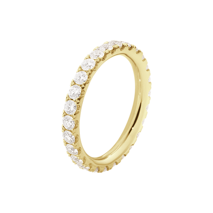 Aurora Ring - 1553D 18 Kt. Yellow Gold With Brilliant Cut Diamonds