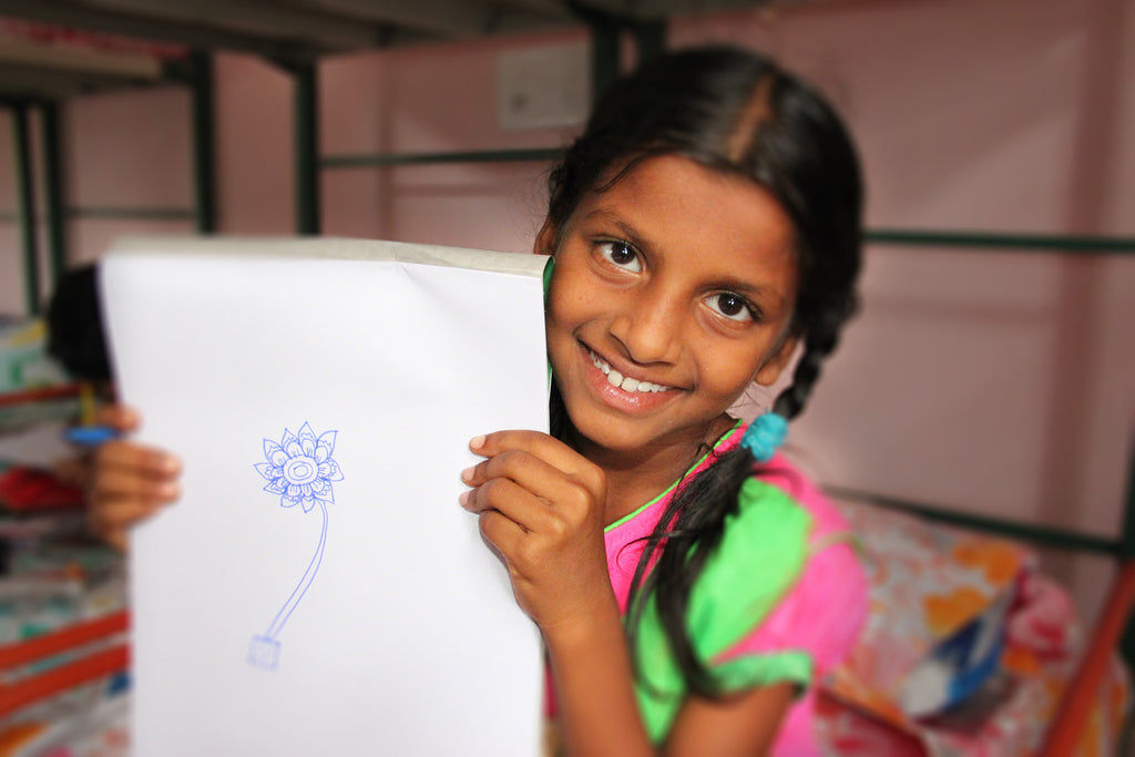 Mabel's House Orphanage in India is supported by your purchase of a Tinkle Belle