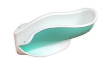 The Tinkle Belle Portable Female Urination Device, Light Teal and White with Case