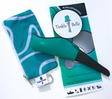 Two teal and grey Tinkle Belles in a bundle. This two pack gives you a discount and saves you money on a great deal.